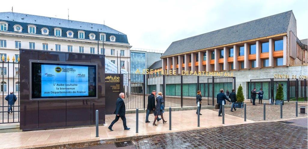 Centre de congrès de l'Aube à Troyes